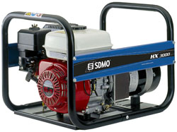 SDMO HX3000 – 3KW strømaggregat